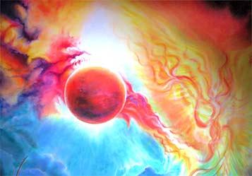 Venus-Signatur Gemäldeausschnitt
